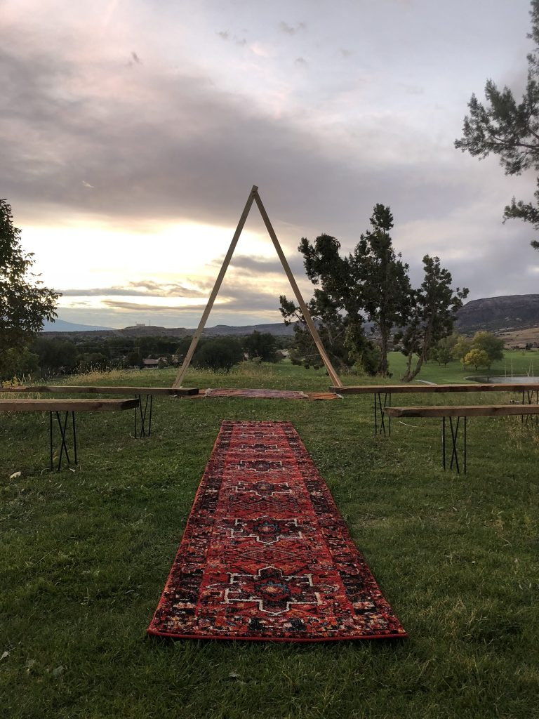 The Bohemian Farmhouse | Wedding & Event rentals in Grand Junction, Colorado featured on WED West Slope - a directory for wedding vendors.