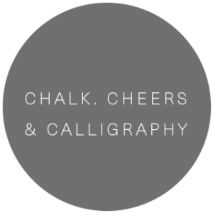 Chalk.Cheers & Calligraphy | Calligraphy & invitations artist in Grand Junction, Colorado featured on WED West Slope - a directory for wedding vendors.