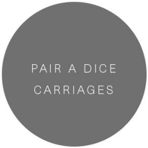 Pair A Dice Carriages   Transportation service in Aspen, Colorado featured on WED West Slope - a directory for wedding vendors.