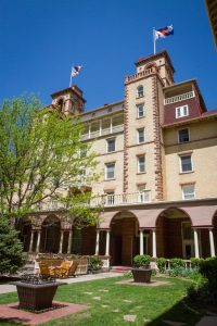 The Hotel Colorado | Wedding venue in Glenwood Springs, Colorado featured on WED West Slope - a directory for wedding vendors.