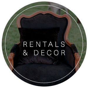 Rentals & Decor | Vendors offering wedding & event rentals for your big day | Featured on WED West Slope - a directory for wedding vendors.