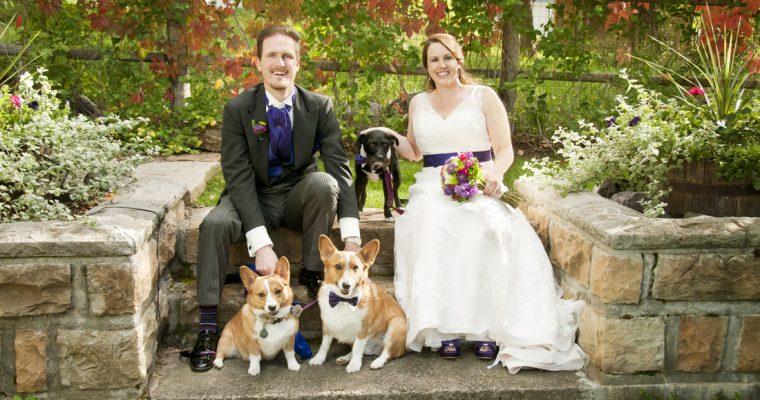September Wedding at Secret Garden B&B in Ouray