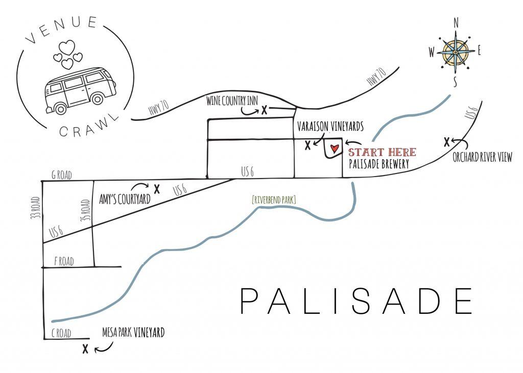 Palisade Venue Crawl with WED West Slope