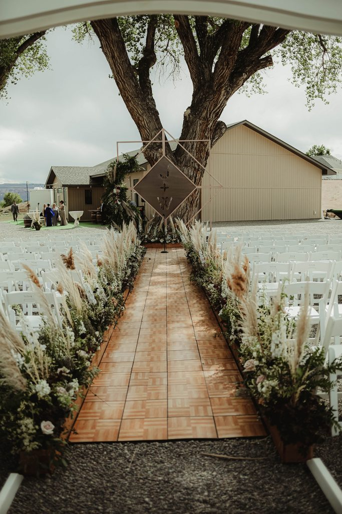 Backyard Wedding by April Marie Events