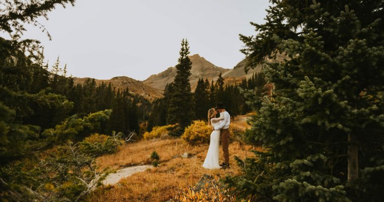 Adventure Elopement in Ouray | Aubrey Beth Photography