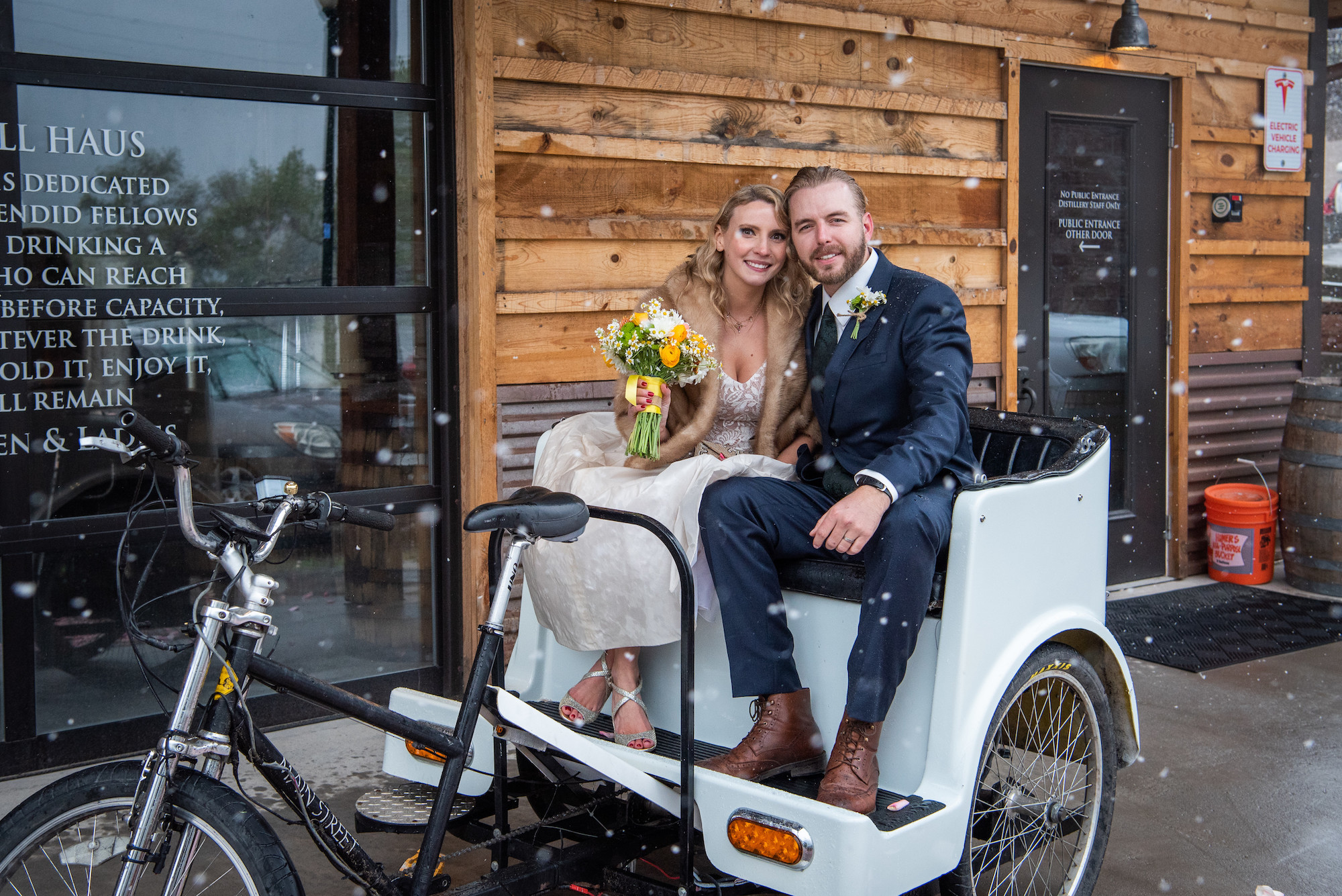Summit Pedicab | Ranch wedding Transportation in Palisade, Colorado featured on WED West Slope - a directory for wedding vendors.