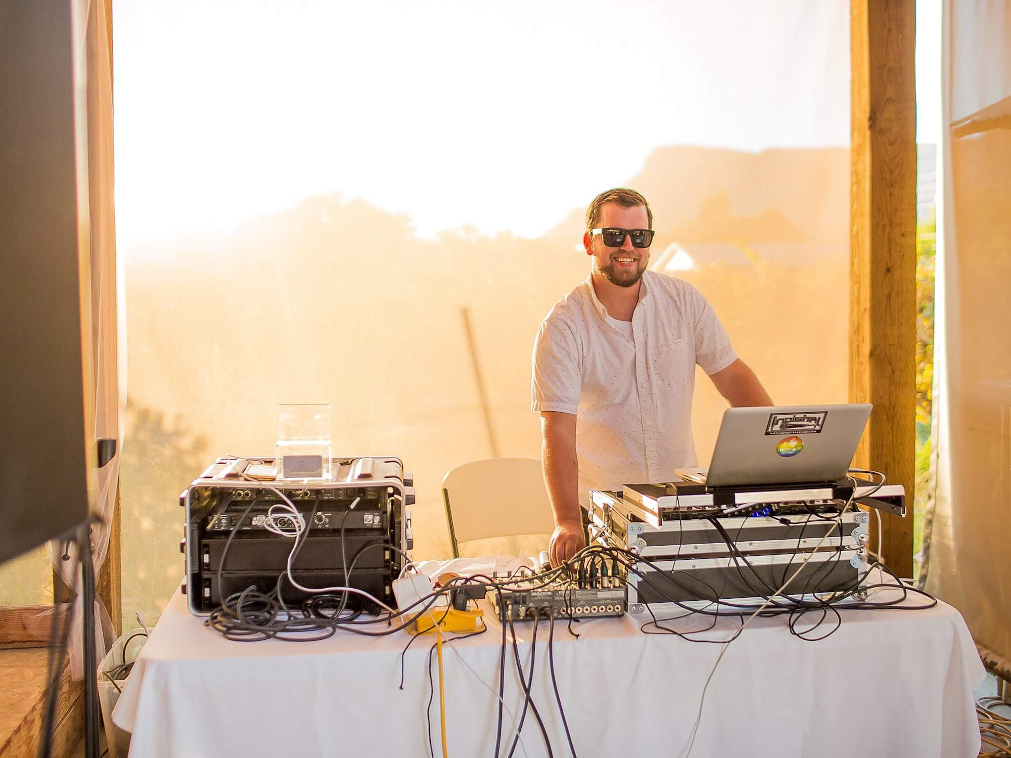 DJ Beardly | DJ providing Music & Entertainment in Grand Junction, CO - featured on WED West Slope, a directory of western slope wedding vendors.