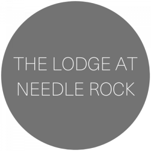 The Lodge at Needle Rock   Wedding venue in Crawford, Colorado featured on WED West Slope - a directory for wedding vendors.