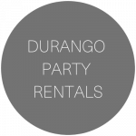 Durango Party Rental | Wedding & Event rentals in Durango, Colorado featured on WED West Slope - a directory for wedding vendors.