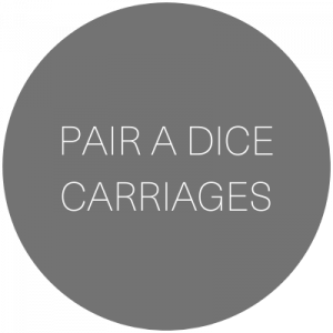 Pair A Dice Carriages | Transportation service in Aspen, Colorado featured on WED West Slope - a directory for wedding vendors.