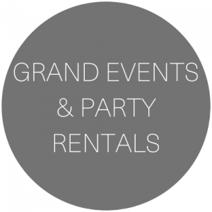 Grand Events and Party Rentals | Wedding & Event rentals in Grand Junction, Colorado featured on WED West Slope - a directory for wedding vendors.