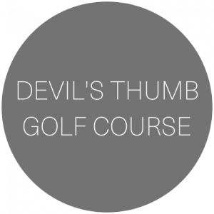 Devil's Thumb Golf Course   Wedding venue in Delta, Colorado featured on WED West Slope - a directory for wedding vendors.